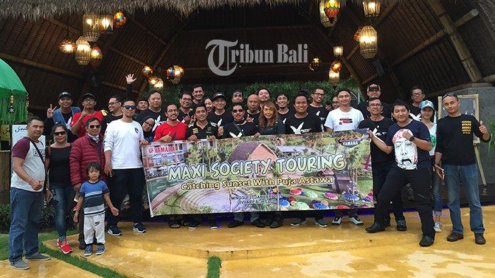 Maxi Society Bali Fun Riding, Begini Kesan Puja Astawa Tunggangi Yamaha Lexi