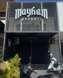 Distro Mayhem Bali Bertahan Saat PPKM Darurat, Karyawan Digaji Full, Andalkan COD Dan Online Shop