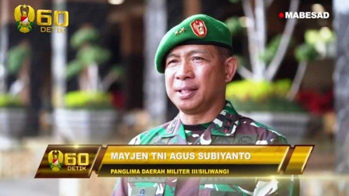 PROFIL Mayjen TNI Agus Subiyanto, Sosok Pangdam Siliwangi yang Baru Dilantik Jenderal Andika Perkasa