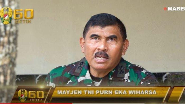 SOSOK Mayjen TNI Eka Wiharsa, Asops Jenderal Andika Perkasa yang Memasuki Masa Pensiun