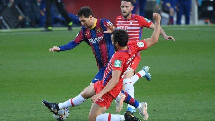 Barcelona Vs Granada, Gol Messi Sia-sia, Barca Gagal Kudeta Atletico Madrid di Klasemen Liga Spanyol
