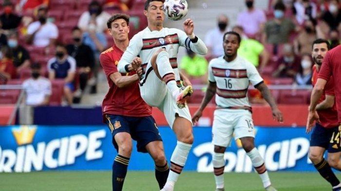 Hasil Pertandingan Spanyol vs Portugal Berakhir dengan Skor Kacamata, La Furia Roja Dominasi Laga