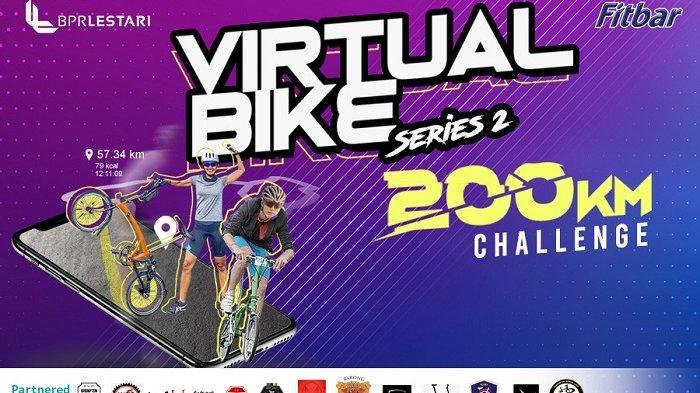 Gelar Lestari Virtual Bike, BPR Lestari Gandeng Belasan Komunitas Sepeda di Pulau Jawa dan Bali