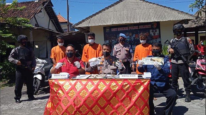 Tim Polsek Sukawati Bekuk Sindikat Pencuri Sepeda Motor Lintas Provinsi