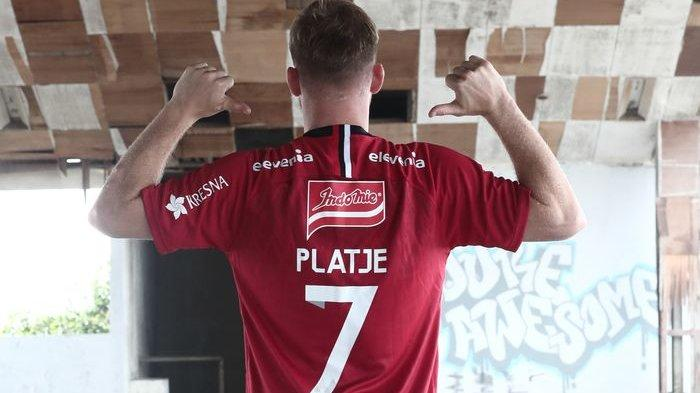 Prestasi Cemerlang di Bali United, Melvin Platje Cetak 12 Gol Dan 5 Asis