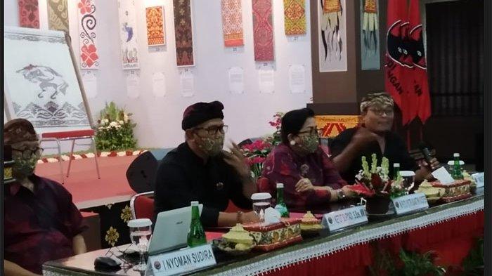 Peringati Bulan Bung Karno 2021, PDIP Bali Gelar Lomba Desain Endek