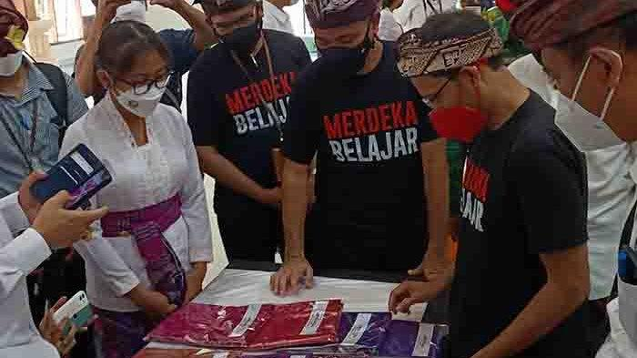 Lakukan Kunker di Bali, Mendikbudristek Nadiem Makarim Beri 2 Masukan ke Instansi Pendidikan Vokasi