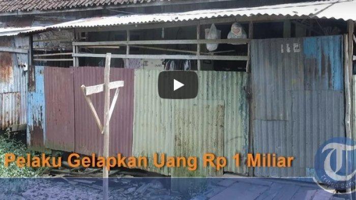 Mengintip Rumah Reyot di Atas Rawa Milik Bandar Arisan Rp 1 Miliar, Tetangga: Saya Sakit Hati