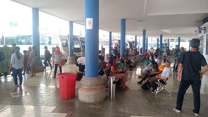 Selama Arus Mudik-Balik Lebaran 2019 Terminal Mengwi Layani 58.354 Penumpang