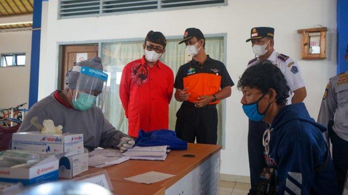 Walikota Jaya Negara Tinjau Pos Penyekatan di Terminal Mengwi, Pastikan Pemudik Bebas Covid-19