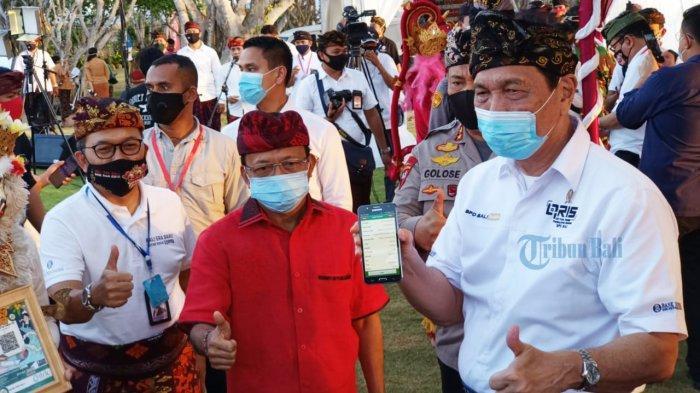 Menko Luhut : Kalau Sampai Ada Nanti Zona Merah, Bukan Tidak Mungkin Bali Ditutup