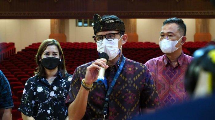 Menparekraf Sandiaga Inginkan Event Skala Nasional Lebih Banyak Digelar di Badung Bali