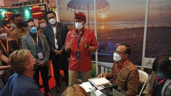 Tinjau Penyelenggaraan BBTF 2021 di Bali, Menparekraf: Ini Akan Mulai Memetakan Pemulihan Pariwisata
