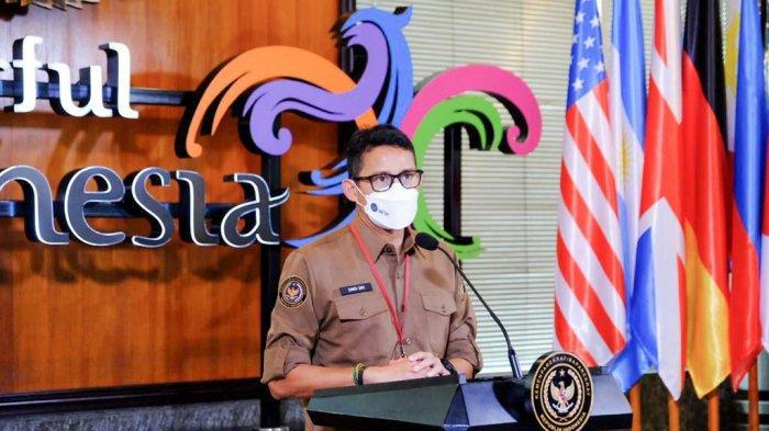 Menparekraf Sandiaga Salahuddin Uno Harap Pola Digital Nomad Jadi Daya Tarik Work From Bali