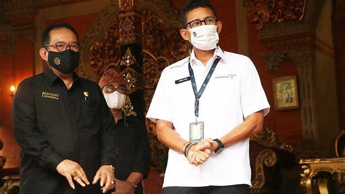 Menparekraf Sandiaga Uno Akan Hadirkan Pusat Vaksinasi di Seluruh Desa Wisata yang Ada di Bali