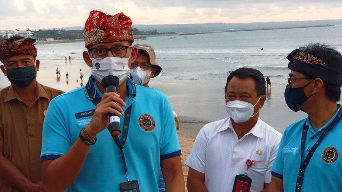 Pantai Kuta Jadi Awal Kebangkitan Pariwisata Bali, Sandiaga Uno: Bukan Sulap Bukan Sihir