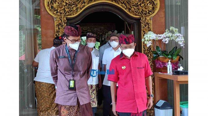 Menparekraf Sandiaga Temui Gubernur Bali, Bahas Program Soft Loan Hingga Free Covid Corridor