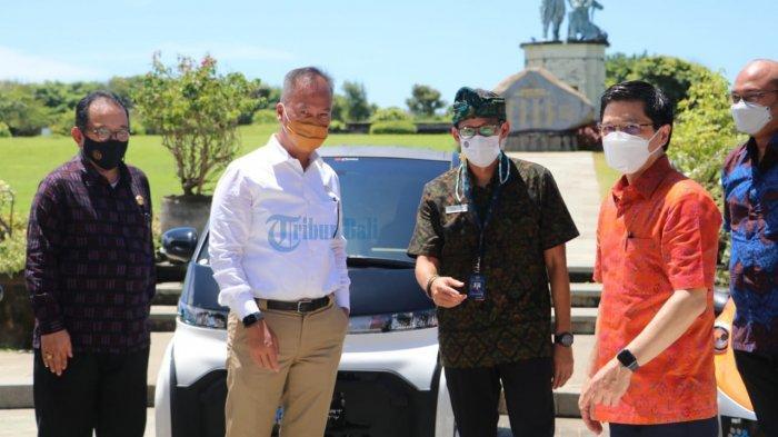 Toyota EV Smart Mobility di Bali, Sandiaga Harapkan Ini Akan Menjadi Suistanable dan Quality Tourism