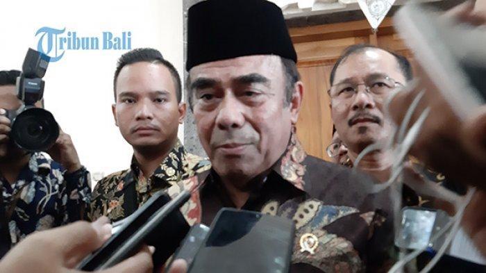 Menteri Agama Fachrul Razi Terkonfirmasi Positif Covid-19, Kini Jalani Isolasi