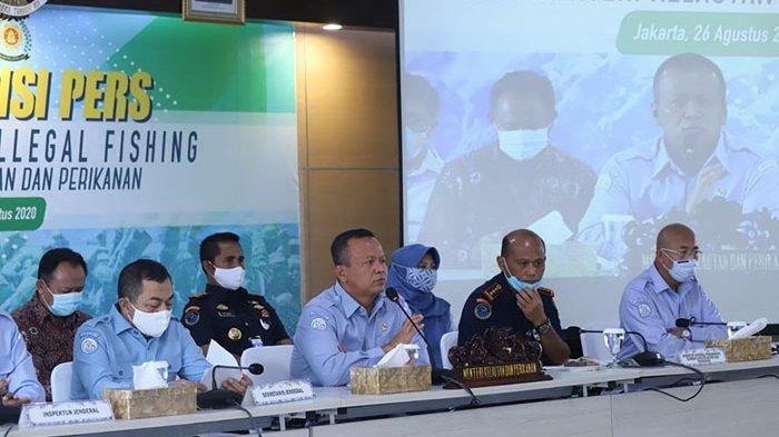 10 Bulan Terakhir, KKP Tangkap 71 Kapal Asing yang Lakukan Illegal Fishing di Perairan Indonesia