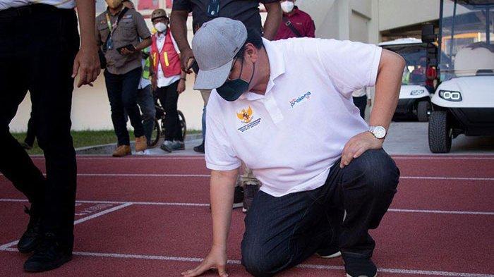 Cek Kesiapan Venue Stadion Lukas Enembe untuk PON XX Papua, Menko Airlangga: Luar Biasa Fasilitasnya