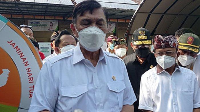 Luhut: Tren Kasus Indonesia Menurun 78 Persen Sejak Puncak Covid-19