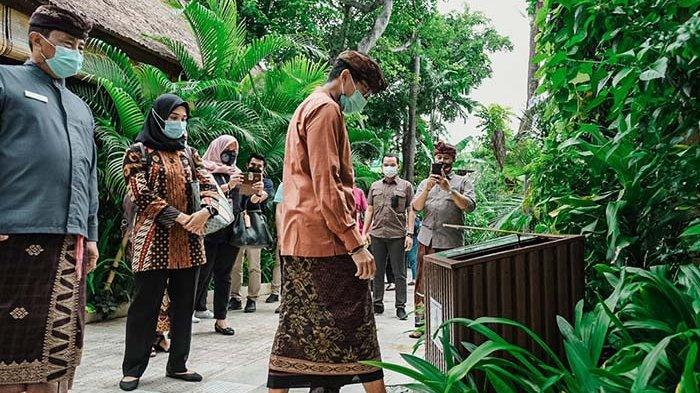 Bali Segera Punya Vaksinasi Drive Thru, Menparekraf Sandiaga Uno Tinjau Lokasi di Waterbom