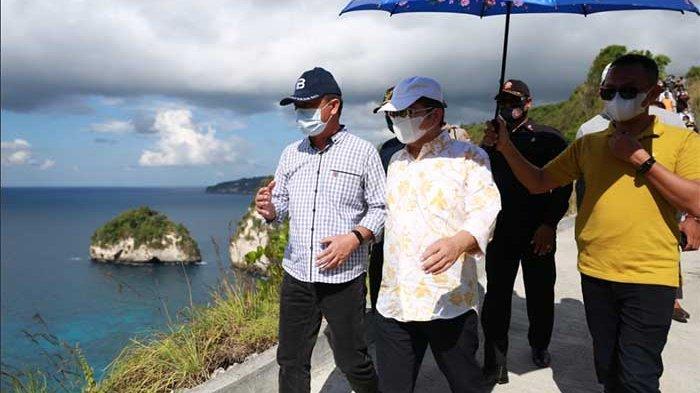 Berencana Wujudkan Destinasi Pariwisata Berkualitas,Menteri PPN/Kepala Bappenas Kunjungi Nusa Penida