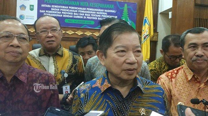 Di Bali Menteri Bappenas: Selama Pandemi Covid-19, Indonesia Kehilangan Daya Beli Rp 374,4 T