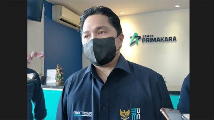 Erick Thohir Sempatkan Bertemu Warga Terdampak Covid-19 di Bali: Semangat untuk Bangkit