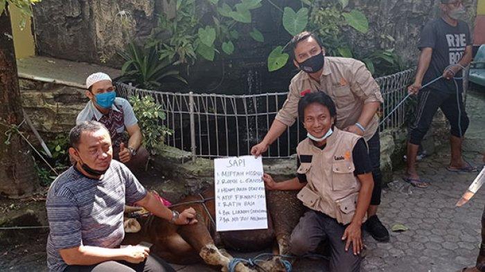 Tetap Konsisten Perkuat Ketahanan Pangan di Masa Pandemi, LazisMu Bagi 79 Ekor Hewan Kurban di Bali