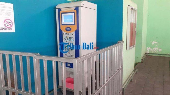 Program ATM Beras Masjid Sadar Sesetan Denpasar Bali, Penerima Bantuan Dapatkan 4 Liter Beras