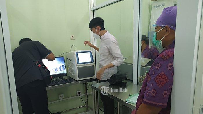 Lagi, RSUD Buleleng Terima Bantuan Satu Mesin PCR dari BNPB