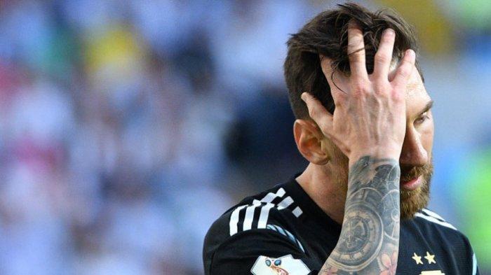 Frustasinya Lionel Messi Yang Putus Asa dengan Performa Timnas Argentina