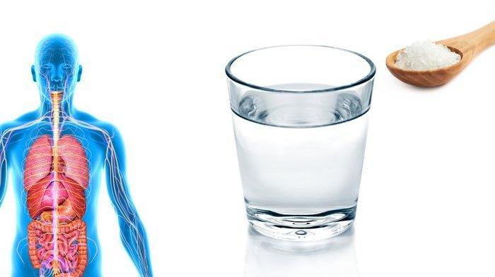 6 Khasiat Minum Air Garam Hangat Setiap Hari Coba Mulai Hari Ini Tribun Bali
