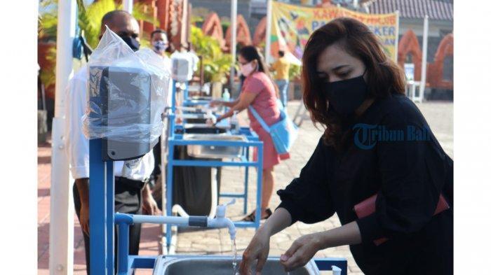 PPKM Darurat, Tempat Ibadah Gereja Katedral Denpasar Tetap Dibuka dengan Prokes Ketat