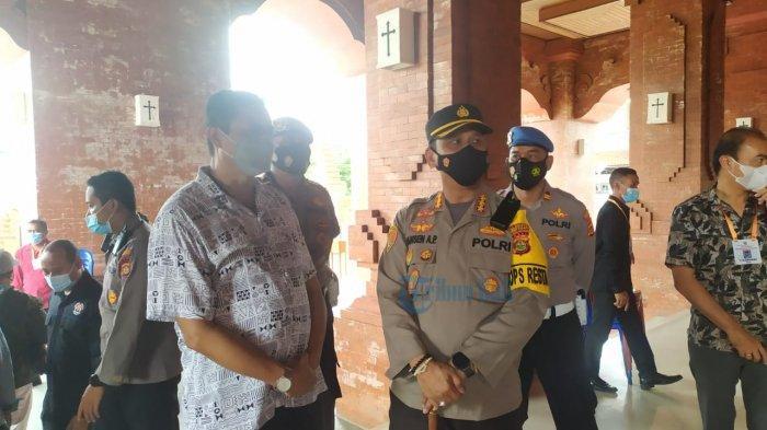 Misa Jumat Agung di Gereja Katedral Denpasar, Jansen: Berjalan Tertib dan Lancar