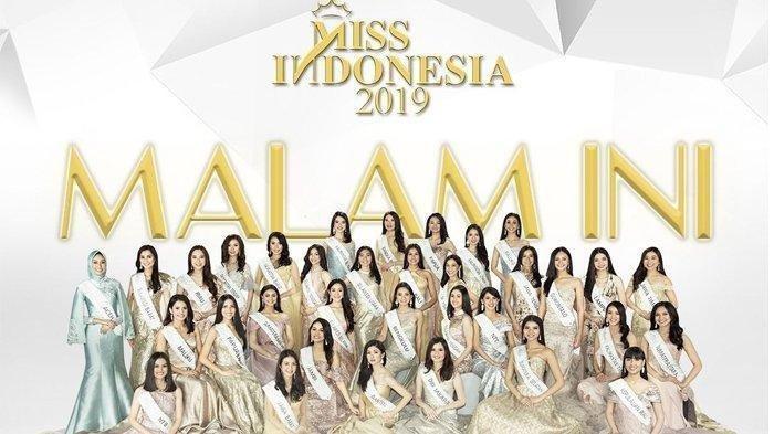 Daftar 15 Finalis Miss Indonesia 2019 Yang Sudah Terpilih Dan Siap Maju ke Babak Berikutnya