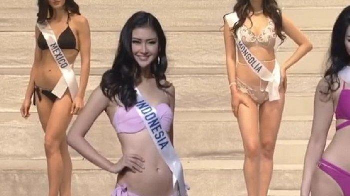 Tonjolkan Bagian Tubuh Ini, Miss International 2017 Asal Indonesia Bikin Netizen Terbelah
