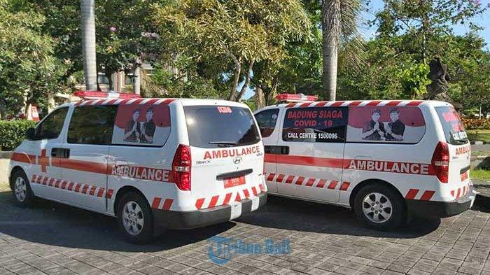 Perkuat Layanan Penanganan Covid-19, Dinkes Badung Tambah Satu Unit Mobil Ambulans