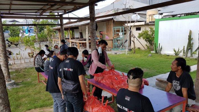 Korban PHK dan Karyawan Dirumahkan Akibat Corona Mengaku Terbantu Donasi Para Gamers Bali