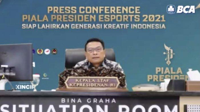 Piala Presiden Esports 2021 Akan Digelar Pada Oktober, Moeldoko: Indonesia Harus Siap