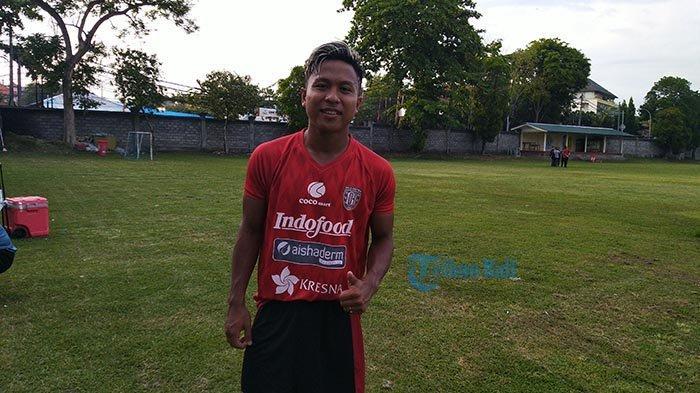 Penyerang Bali United, Fahmi: Keluarga Jadi Motivasi Terbesar