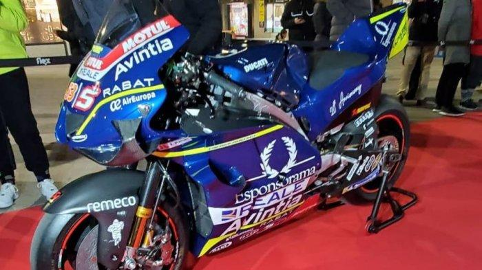 MotoGP 2020: Penampakan Amunisi Johann Zarco Mirip Motor Valentino Rossi di MotoGP 2008