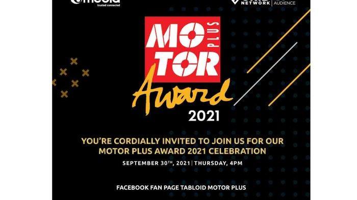 MOTOR PLUS AWARD 2021 Suguhkan 29 Penghargaan