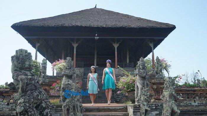 Mrs Universal Kunjungi Objek Wisata Kertha Gosa Klungkung Bali, Begini Komentarnya