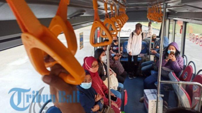 Pasca Lebaran dan Arus Balik, Penumpang Bus Trans Metro Dewata Meningkat