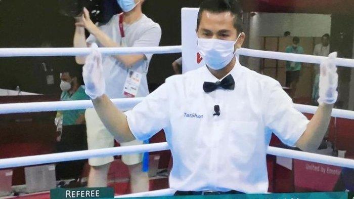 CERITA Boy Pohan: Sosok Wasit Indonesia yang Pimpin Final Tinju Olimpiade Tokyo 2021