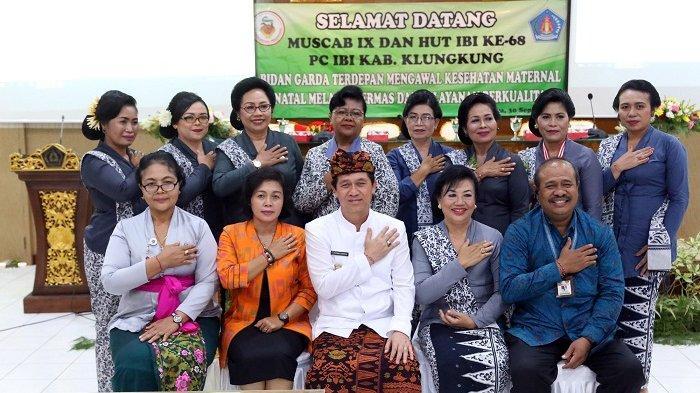 Hadiri Muscab dan HUT IBI, Suwirta Harap Dukungan Bidan Dalam Memberikan Pelayanan ke Masyarakat