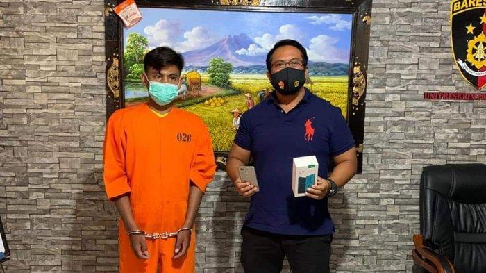 Mustakim Diciduk di Denpasar Selatan Usai Mencuri Handphone